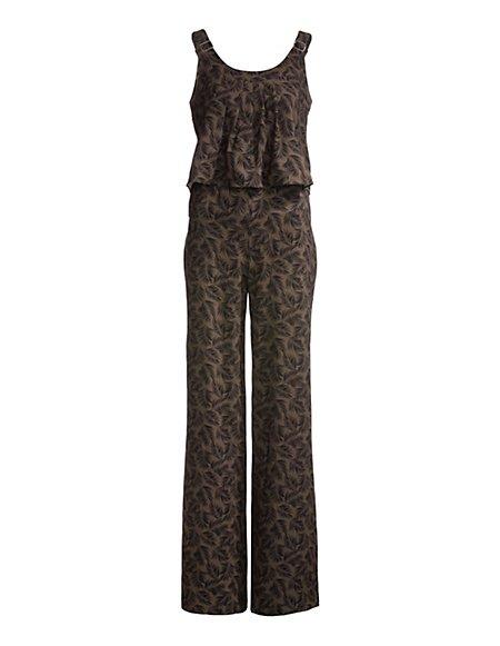 MADELEINE  Jumpsuit Dames olijf/zwart / groen