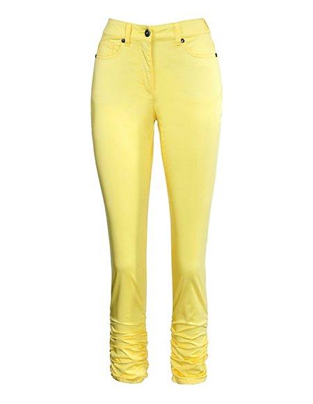 MADELEINE  Broek Dames geel