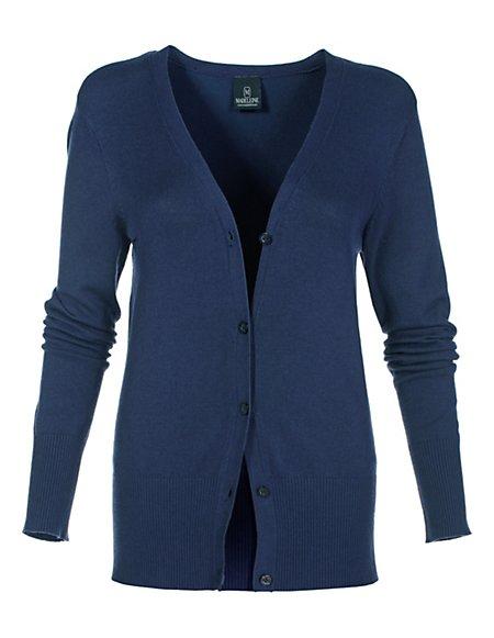 MADELEINE  Vestje Dames marine / blauw