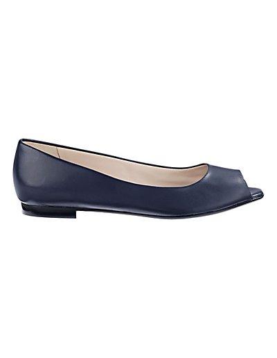 MADELEINE  Ballerines open toe femme marine / bleu