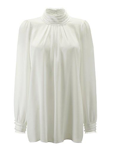 MADELEINE  Chemise femme blanc cassé / blanc