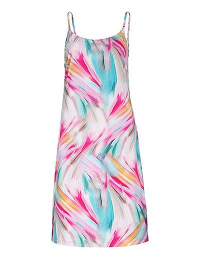 MADELEINE  Robe de plage femme multicolore / bleu