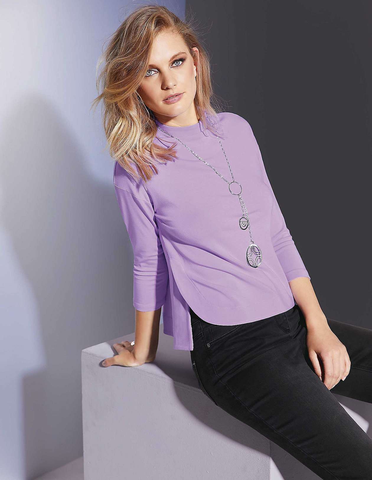 cf98df5e3c7de9 Damen-Shirts und Tops- exklusiv, edel, extravagant, elegant | MADELEINE Mode