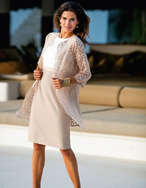 Suisse Rose Madeleine Nude Longue Veste Mode Pâle W8wYCqfq