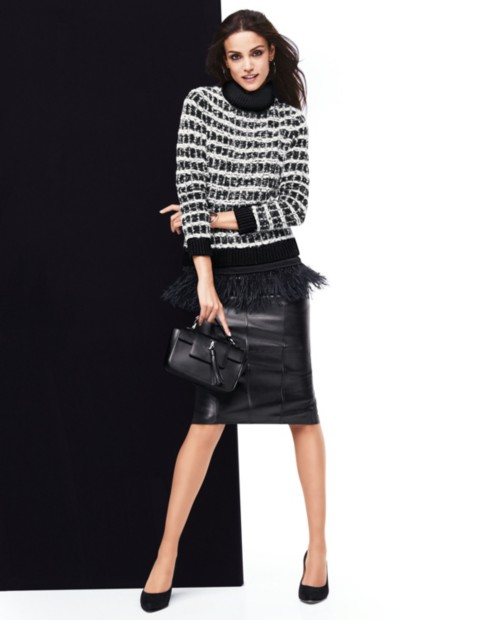 Ankle Boots Pencil Skirt
