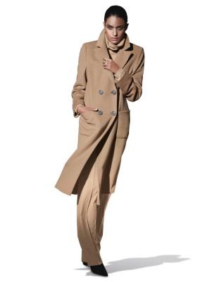 Madeleine cashmere mantel